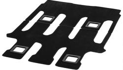 Коврики велюровые черные для Mercedes Vito 447