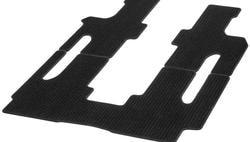 Коврики репсовые черные для Mercedes Vito 447