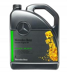 Синтетическое моторное масло Mercedes MB 229.52 5W30 5 литров