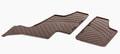 Коврики салона GL класс W164 для 3-го ряд резиновые коричневые