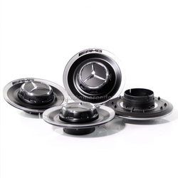 Крышка ступицы колеса AMG-EDITION, комплект 4 шт, цвет чёрный оригинал A00040050009283 для Мерседес GLS class X167