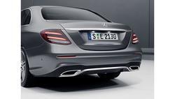 Спойлер заднего бампера AMG для Mercedes E class W213