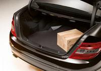 Коврик в багажник с противоскользящим покрытием для Мерседес C Class W204