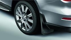Брызговики задние Mercedes GLS class X167