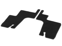 Коврики 3-й ряд сидений GL X166 велюровые черные