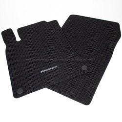 Коврики салона A class W176 рипсовые коврики CLASSIC окантовка черного цвета