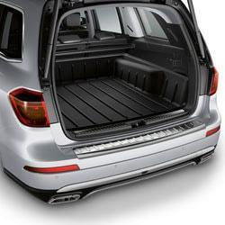 Поддон для багажника Мерседес GL X166 высокий