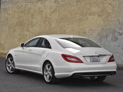 Задний бампер AMG для Mercedes CLS class C218