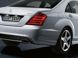 Задний бампер AMG для Mercedes S class W221