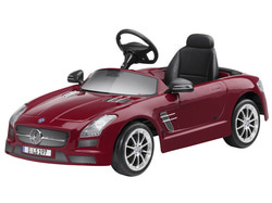 Автомобиль с электро приводом Mercedes SLS AMG
