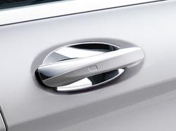 Накладка под дверную ручку для Mercedes C class W205