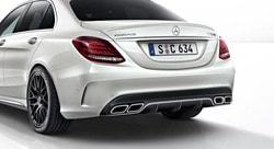 Спойлер AMG крышки багажника для Mercedes C class W205