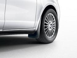 Брызговики задние для Mercedes V 447