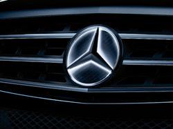 Звезда Mercedes с освещением для Mercedes GLC class X253
