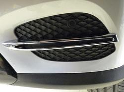 Накладка переднего бампера для Mercedes GLC class X253