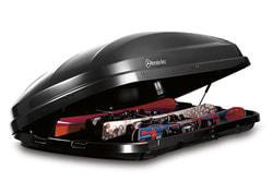 Крепление для перевозки лыж багажного контейнера XL black Mercedes