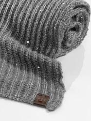 Женский шарф Mercedes-Benz Women's polyacrylic scarf, Grey