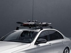Поперечины на крышу для Mercedes E class W213