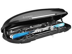 Крепление для перевозки лыж багажного контейнера Mercedes 400
