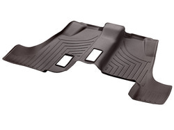 Коврики салона 3-й ряд резиновые коричневые для Mercedes GLS class X166