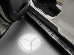 Светодиодный проектор для Mercedes GLS class X166