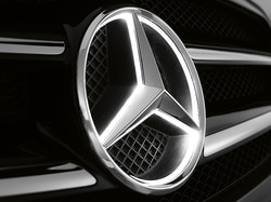 Звезда с подсветкой для Mercedes E class C238