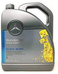Синтетическое моторное масло Mercedes MB 229.5