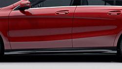 Накладки на пороги AMG, Полный комплект Mercedes CLA 117