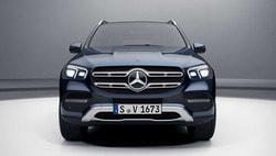 Звезда с подсветкой Mercedes для Mercedes GLE class C167