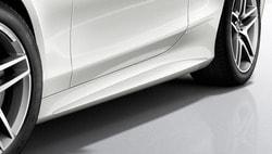 Пороги боковые для Mercedes S class C217