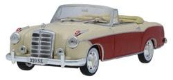 Модели автомобилей Mercedes 220 SE Ponton Cabriolet W 128 (1958-1960)