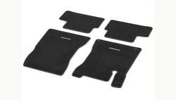 Коврики салона велюровые черные для Mercedes GLA class H247