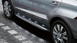 Комплект освещения для подножек Mercedes GLE W166