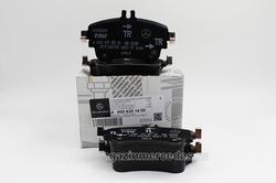 Колодки тормозные передние для Mercedes A class W176