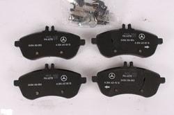 Колодки тормозные передние для Mercedes C class W204