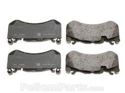 Колодки тормозные передние для Mercedes CL class C216