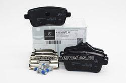 Колодки тормозные задние для Mercedes M class W166