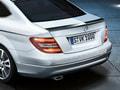 Спойлер на крышку багажника Мерседес С класс купе W204