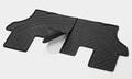 Коврики салона GL класс W164 для 3-го ряд резиновые черные
