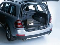 Багажная сетка, напольная длинная в багажник для Мерседес GL class X164