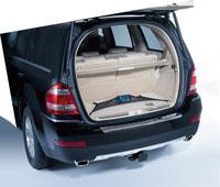 Багажная сетка, напольная короткая для Мерседес GL class X164