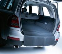 Двусторонний коврик, длинный черный в багажник для Мерседес GL class X164