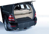 Двусторонний коврик, короткий черный в багажник для Мерседес GL class X164