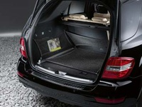 Багажная сетка напольная в багажник для Мерседес M class W164