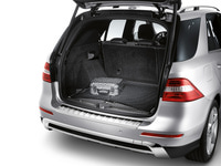 Сетка напольная в багажник для Мерседес M class W166