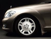 Брызговики передние Мерседес S class W221