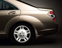 Брызговики задние Мерседес S class W221