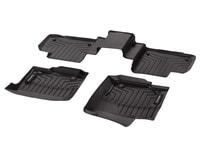 Коврики-поддон салона GL X166 резиновые коричневые