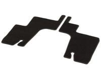Коврики 3-й ряд сидений GL X166 велюровые коричневые