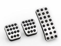 Накладки на педали для Мерседес GLK X204 механика
